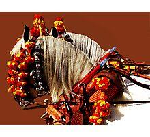 Gotta Love Feria - Parading Horses Photographic Print