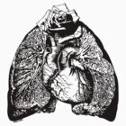 Lung Language - black by Madison Cowles
