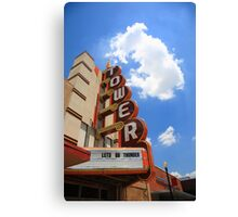 Route 66 - Tower Theater Canvas Print