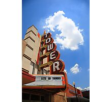 Route 66 - Tower Theater Photographic Print