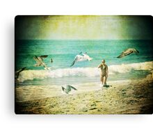 The Flyby Canvas Print