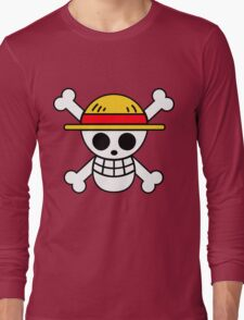 Straw Hat Pirates Logo Long Sleeve T-Shirt