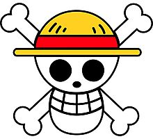 Straw Hat Pirates Logo Photographic Print