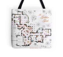 The Golden Girls House floorplan v.1 Tote Bag