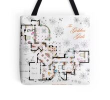 The Golden Girls House floorplan v.2 Tote Bag