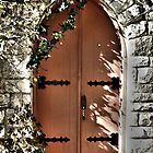 Doors to the Chapel  by Kelsey Sledge