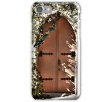 Doors to the Chapel  iPhone Case/Skin