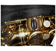 The Golden Tone - Sax Magic Poster
