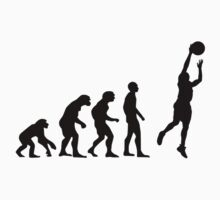 Basketball evolution One Piece - Short Sleeve
