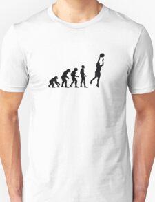 Basketball evolution Unisex T-Shirt
