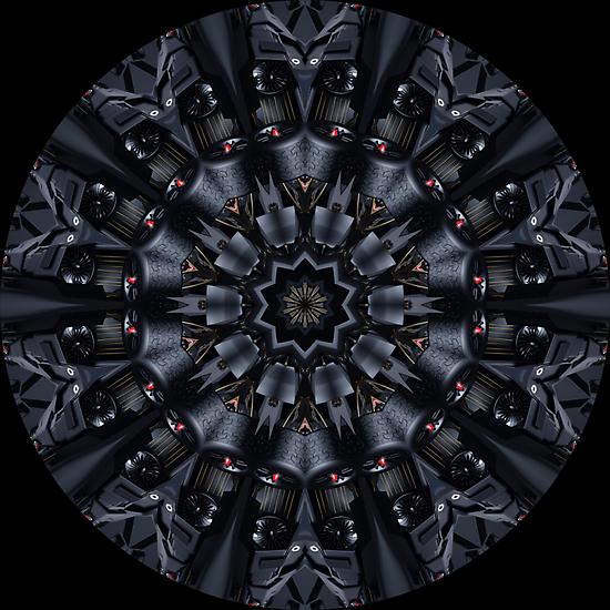Black Knight Kaleidoscope 01 by fantasytripp