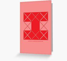 Design 206 Greeting Card