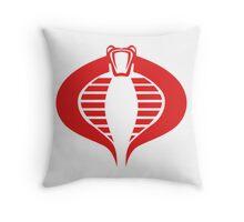 cobra logo Throw Pillow