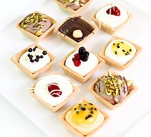 Dessert tarts  by PhotoStock-Isra