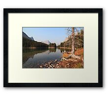 Blue tarn  Framed Print