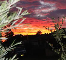 Goulburn Sunset by Buddy Ahearn