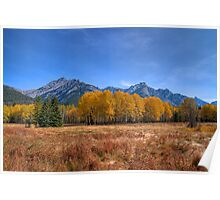 Fall at Hillsdale Meadow Poster