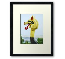 The Famous Dragon's Head in Kent, England Framed Print