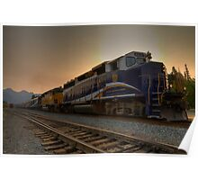 Rocky Mountaineer Halo Poster