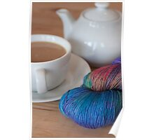 Tea and Yarn Poster