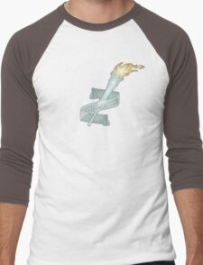 Vigilance Torch Nouveau Men's Baseball ¾ T-Shirt