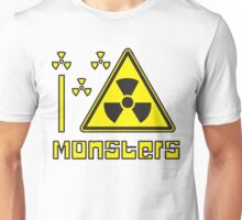 I LOVE MONSTERS T-shirt Unisex T-Shirt