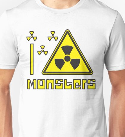 I LOVE MONSTERS T-shirt Unisex T-Shirt