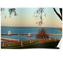 SunSet at Eastern Beach Poster