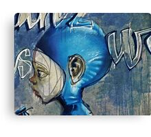 Feeling blue? Canvas Print