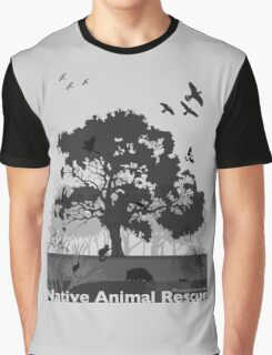 Support Native Animal Rescue Graphic T-Shirt