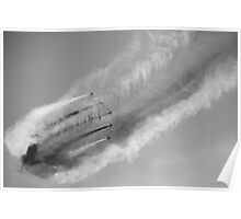 Red Arrows - Creating Clouds Poster