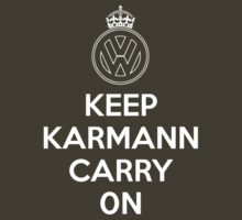 Keep Karmann Carry On (White) by supersnapper