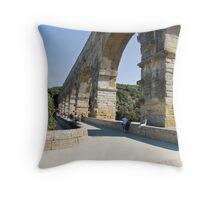 Pont Du Gard Throw Pillow