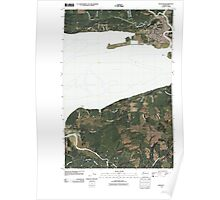 USGS Topo Map Washington State WA Hoquiam 20110502 TM Poster