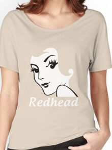 Miss Redhead (text) [iPhone / iPad / iPod case   Tshirt   Print] Women's Relaxed Fit T-Shirt