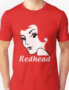Miss Redhead (text) [iPhone / iPad / iPod case | Tshirt | Print] T-Shirt