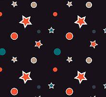 Christmas Stars by Vac1