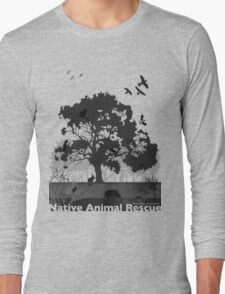 Support Native Animal Rescue Long Sleeve T-Shirt