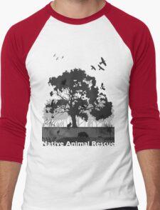 Support Native Animal Rescue Men's Baseball ¾ T-Shirt