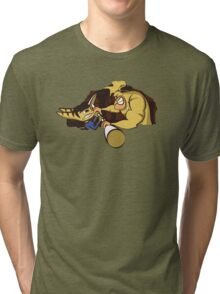 Combat to the death Tri-blend T-Shirt