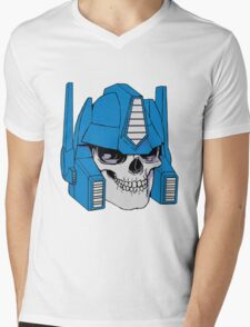 Optimus Crime Mens V-Neck T-Shirt