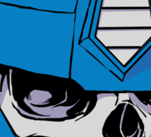 Optimus Crime Sticker