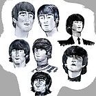 BEATLES JOHN LENNON 1962 1964 by LIVING