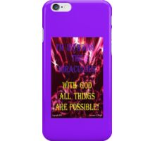 INVADING THE MIRACULOUS! iPhone Case/Skin