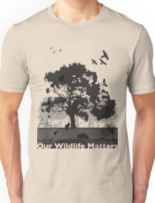 Our Wildlife Matters - Support Native Animal Rescue Unisex T-Shirt