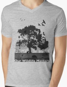 Our Wildlife Matters - Support Native Animal Rescue Mens V-Neck T-Shirt