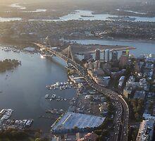 ANZAC Bridge, Sydney by Daniel Rankmore