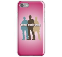 TEAM FREE WILL (PINK) iPhone Case/Skin