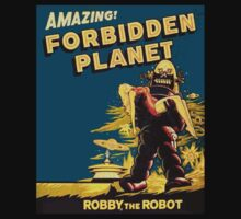 forbidden planet by artvagabond