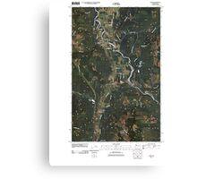 USGS Topo Map Washington State WA Acme 20110418 TM Canvas Print